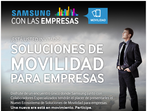 Evento Forum Samsung B2B Soluciones de Movilidad