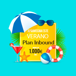 Plan Inbound - oferta verano - Marketing online -Tuwebsoluciones - Madrid - España