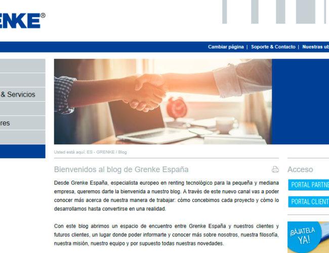 Grenke -Tuwebsoluciones - Madrid - España