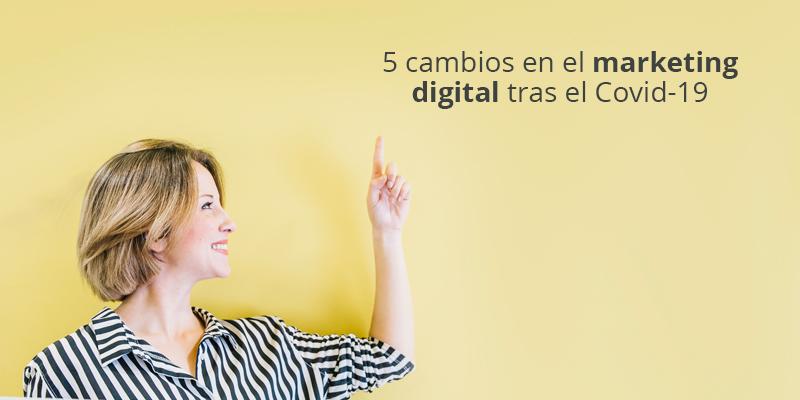 Marketing digital tras el covid-19 - Tu Web Soluciones - Quédate en casa - España